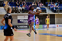 Stars&rsquo; Ama Agbeze in action during the ANZ Premiership - Pulse v Northern Stars at Te Rauparaha Arena, Porirua, New Zealand on Monday 25 June 2018.<br /> Photo by Masanori Udagawa. <br /> www.photowellington.photoshelter.com