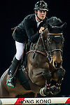 Constant Van Paesschen of Belgium riding Citizenguard Million Dreams in action at the the Massimo Dutti Trophy during the Longines Hong Kong Masters 2015 at the AsiaWorld Expo on 15 February 2015 in Hong Kong, China. Photo by Juan Flor / Power Sport Images