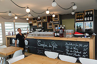 France, Gironde (33),Bassin d'Arcachon, Arcachon:   Bar-Restaurant: Le Comptoir du Port //  France, Gironde, Bassin d'Arcachon, Arcachon: Bar-Restaurant: Le Comptoir du Port