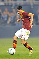 Sporting Park, Kansas City, Kansas, July 31 2013:<br /> Alessandro Florenzi (24) AS Roma in action.<br /> MLS All-Stars were defeated 3-1 by AS Roma at Sporting Park, Kansas City, KS in the 2013 AT & T All-Star game.