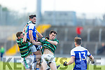 Action from St Brendans v Shannon Rangers in the County Football Championship 3rd round on Saturday.