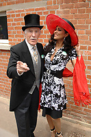 Bruce and Wilnelia Forsyth dies at 89 retro set - <br /> at Ascot 2006 ladies day, Ascot Racecourse, Berkshire