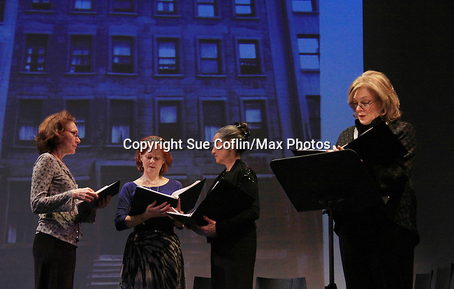 """Randy Graff, Victoria Mallory (6 years on Y&R) """"Leslie Brooks"""" and Jane Summerhayes  star in """"Good Girls Only"""" - the Rehearsal Club Musical - on March 13, 2013 at the Professional Children's School, New York City, New York. (Photo by Sue Coflin/Max Photos)  917-647-8403"""
