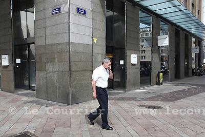 Genève, le 22.07.2009.Rue de basse.© Le Courrier / J.-P. Di Silvestro