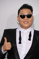LOS ANGELES, CA - NOVEMBER 18: Psy at The 40th Annual American Music Awards at The Nokia Theater LA Live, in Los Angeles, California. November 18, 2012. Photo by: mpi99/MediaPunch Inc. NortePhoto