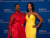 Cloe Luv and Jordan Emanuel arrive for the 2019 White House Correspondents Association Annual Dinner at the Washington Hilton Hotel on Saturday, April 27, 2019.<br /> Credit: Ron Sachs / CNP<br /> <br /> (RESTRICTION: NO New York or New Jersey Newspapers or newspapers within a 75 mile radius of New York City)