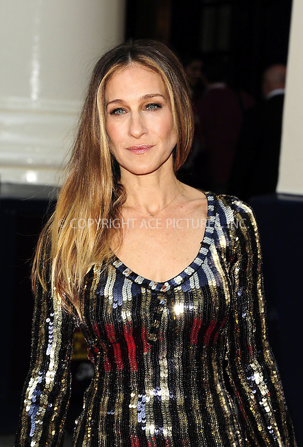 WWW.ACEPIXS.COM<br /> <br /> US Sales Only<br /> <br /> June 25 2013, London<br /> <br /> Sarah Jessica Parker at the 'Charlie and the Chocolate Factory' Press night at Drury Lane Theatre on June 25 2013 in London<br /> <br /> By Line: Famous/ACE Pictures<br /> <br /> <br /> ACE Pictures, Inc.<br /> tel: 646 769 0430<br /> Email: info@acepixs.com<br /> www.acepixs.com