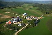 Contour farming near Winona Minnesota