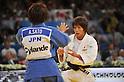 (L to R) Kaori Matsumoto (JPN), Aiko Sato (JPN), AUGUST 24, 2011 - Judo : World Judo Championships Paris 2011, Women's -57kg class at Palais Omnisport de Paris-Bercy, Paris, France. (Photo by Atsushi Tomura/AFLO SPORT) [1035]
