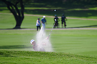 Ian Poulter (GBR) hits from the trap on 2 during round 2 of the 2019 Charles Schwab Challenge, Colonial Country Club, Ft. Worth, Texas,  USA. 5/24/2019.<br /> Picture: Golffile   Ken Murray<br /> <br /> All photo usage must carry mandatory copyright credit (© Golffile   Ken Murray)