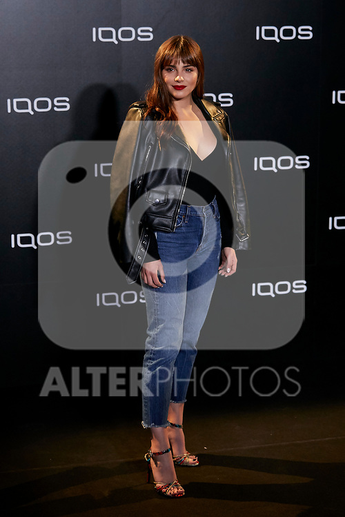 Andrea Duro attends to IQOS3 presentation at Palacio de Cibeles in Madrid, Spain. February 13, 2019. (ALTERPHOTOS/A. Perez Meca)