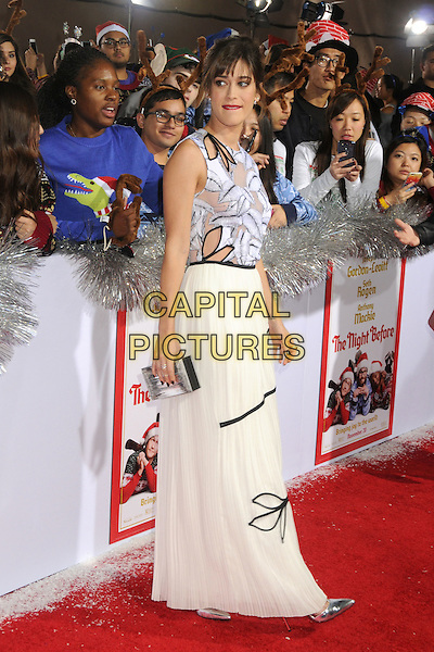 18 November 2015 - Los Angeles, California - Lizzy Caplan. &quot;The Night Before&quot; Los Angeles Premiere held at The Ace Hotel. <br /> CAP/ADM/BP<br /> &copy;BP/ADM/Capital Pictures