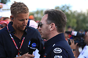25th March 2018, Melbourne Grand Prix Circuit, Melbourne, Australia; Melbourne Formula One Grand Prix, race day; Christian Horner