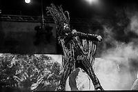 CIUDAD DE MEXICO, D.F. 25 de octubre.- El grupo de rock Rob Zombie en el festival de música Hell and Heaven en el Autódromo Hermanos Rodríguez de la Ciudad de México, el 25 de octubre de 2014.  FOTO: ALEJANDRO MELÉNDEZ
