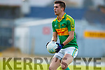 Daniel Daly South Kerry in action against  Kerins O'Rahillys in the Kerry Senior Football Championship Semi Final at Fitzgerald Stadium on Saturday.
