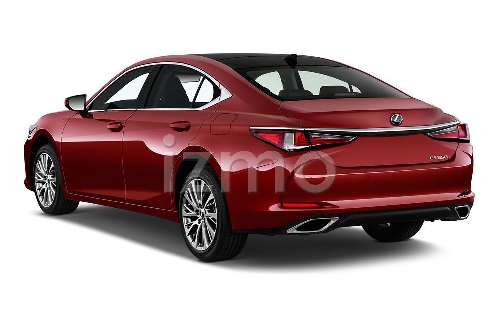 Car pictures of rear three quarter view of a 2019 Lexus ES 350 4 Door Sedan angular rear