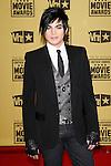 January 15, 2010:  Adam Lambert arrives at the 15th Annual Critics' Choice Movie Awards held at the Palladium in Los Angeles, California. .Photo by Nina Prommer/Milestone Photo