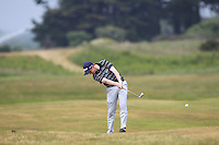 Ronan Mullarney (Galway) on the 2nd during Round 4 of the East of Ireland Amateur Open Championship sponsored by City North Hotel at Co. Louth Golf club in Baltray on Monday 6th June 2016.<br /> Photo by: Golffile   Thos Caffrey