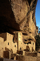 CLIFF PALACE is the most extensive ANASAZI ruin of MESA VERDE NP (1200 AD)