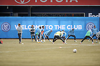 New York City FC Training Yankee Stadium, March 25, 2015