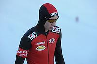 SCHAATSEN: BOEDAPEST: Essent ISU European Championships, 07-01-2012, 500m Men, Bart Swings BEL, ©foto Martin de Jong