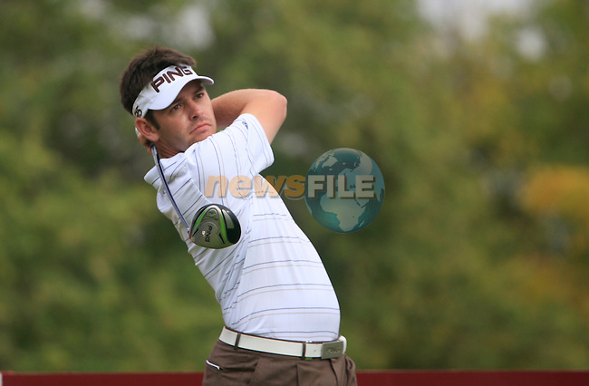 Louis Oosthuizen tees off on the 11th tee during Day 2 Friday of the Abu Dhabi HSBC Golf Championship, 21st January 2011..(Picture Eoin Clarke/www.golffile.ie)