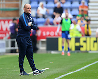 Preston North End manager Alex Neil cuts a frustrated figure on the touchline<br /> <br /> Photographer David Shipman/CameraSport<br /> <br /> The EFL Sky Bet Championship - Wigan Athletic v Preston North End - Monday 22nd April 2019 - DW Stadium - Wigan<br /> <br /> World Copyright © 2019 CameraSport. All rights reserved. 43 Linden Ave. Countesthorpe. Leicester. England. LE8 5PG - Tel: +44 (0) 116 277 4147 - admin@camerasport.com - www.camerasport.com