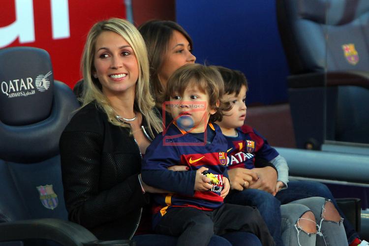 League BBVA 2015/2016. Game: 13.<br /> FC Barcelona vs Real Sociedad: 4-0.<br /> Sofia Balbi &amp; Antonella Rocuzzo.
