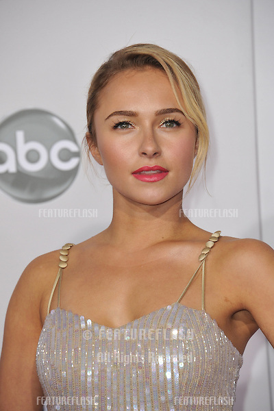 Hayden Panettiere at the 40th Anniversary American Music Awards at the Nokia Theatre LA Live..November 18, 2012  Los Angeles, CA.Picture: Paul Smith / Featureflash