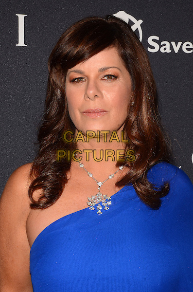 17 February 2015 - Beverly Hills, Ca - Marcia Gay Harden. BVLGARI and Save the Children launches Stop.Think.Give., a collection of celebrity portraits photographed by Fabrizio Ferri held at Spago. <br /> CAP/ADM/BT<br /> &copy;BT/ADM/Capital Pictures