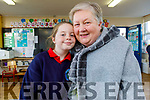 Megan Barrero with her nan Ita Greaney at the Grandparents Day in Listellick NS on Friday.