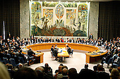 New York, NY - September 24, 2009 -- Wide view of the United Nations Security Council Summit on nuclear non-proliferation and disarmament, which unanimously adopted resolution 1887 (2009), expressing the Council's resolve to create the conditions for a world without nuclear weapons at U.N. Headquarters in New York, New York on Thursday, September 24, 2009..Mandatory Credit: UN Photo/Mark Garten via CNP