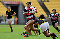 Glory Aiono of Counties Manukau in action during the Farah Palmer Cup - Wellington Pride v Counties Heat at Westpac Stadium, Wellington, New Zealand on Sunday 15 September 2019. <br /> Photo by Masanori Udagawa <br /> www.photowellington.photoshelter.com