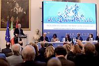 Summit internazionale su Acqua e Clima a Roma