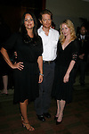 Actors Polly Walker, Eric Stoltz and Paula Malcomson arrive at the NBC Universal 2008 Press Tour All-Star Party at The Beverly Hilton Hotel on July 20, 2008 in Beverly Hills, California.
