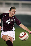 Lindsey McArdle on Wednesday, November 2nd, 2005 at SAS Stadium in Cary, North Carolina. The Duke University Blue Devils defeated the Boston College Eagles 2-0 during their Atlantic Coast Conference Tournament Quarterfinal game.