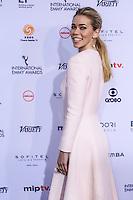 NEW YORK, NY 21.11.2016 - EMMY-2016 - Birgitte Hjort Sorensen durante tapete vermelho do Emmy Internacional 2016 prêmio dos melhores atores e novelas da TV, em Nova York, nos Estados Unidos na noite desta segunda-feira, 21. (Foto: Vanessa Carvalho/Brazil Photo Press)