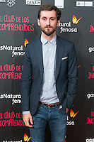"Raul Arevalo attend the Premiere of the movie ""El club de los incomprendidos"" at callao Cinema in Madrid, Spain. December 1, 2014. (ALTERPHOTOS/Carlos Dafonte) /NortePhoto<br />