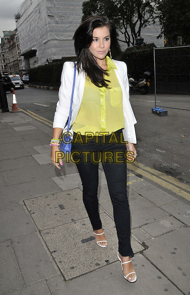 LONDON, ENGLAND - OCTOBER 01: Imogen Thomas attends the Cherry Edit new fashion website launch party, Cafe KaiZen, Hanover Square, on Wednesday October 01, 2014 in London, England, UK. <br /> CAP/CAN<br /> &copy;Can Nguyen/Capital Pictures
