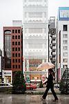 Tokyo, June 26 2013 -  UNIQLO flagship store in the Ginza area.