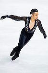 Florent Amodio of France compete in the Short Program Men during the 2014 Sochi Olympic Winter Games at Iceberg Skating Palace on February 6, 2014 in Sochi, Russia. Photo by Victor Fraile / Power Sport Images