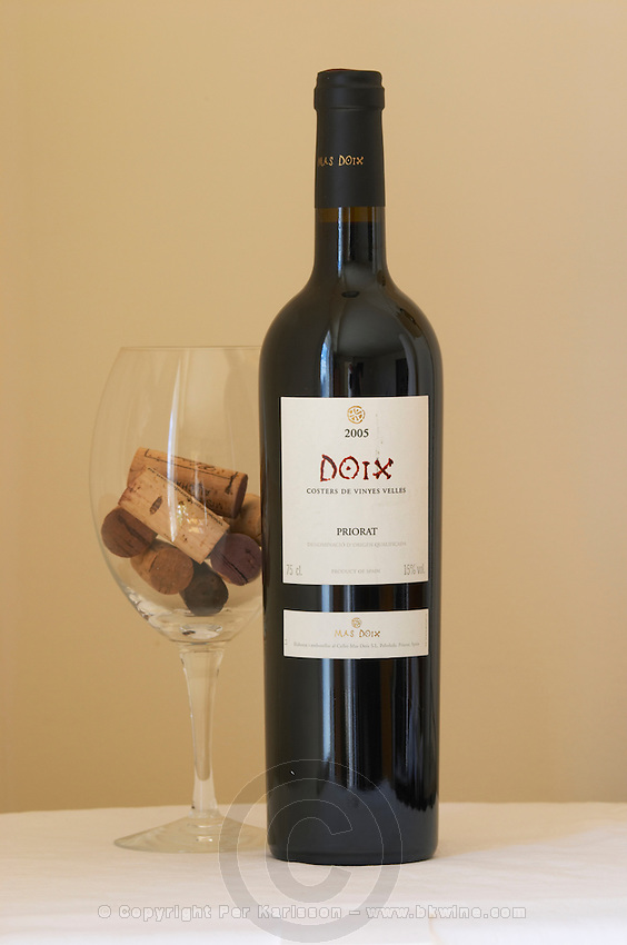 Doix 2005, Mas Doix. Priorato, Catalonia, Spain.