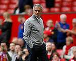 Jose Mourinho manager of Manchester United during the English Premier League match at the Old Trafford Stadium, Manchester. Picture date: May 21st 2017. Pic credit should read: Simon Bellis/Sportimage