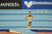 Photo: Ady Kerry/Richard Lane Photography..Aviva Grand Prix. 21/02/2009. .Momchil Karailev waits on the triple jump runway