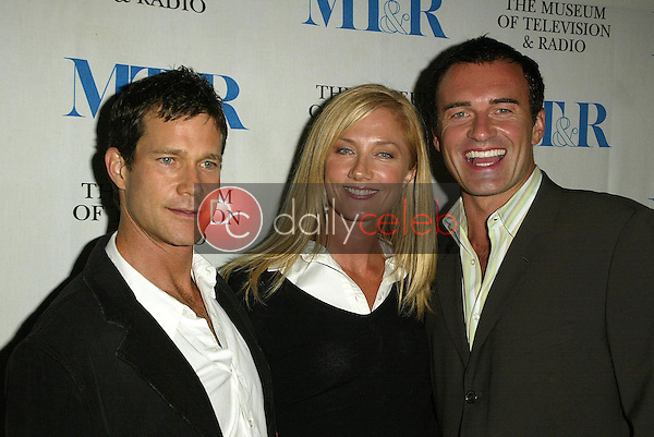 Dylan Walsh with Joely Richardson and Julian McMahon<br />at &quot;Miami Black and Blue: A Look at Nip/Tuck&quot;. Museum of Television and Radio, Los Angeles, CA. 09-19-05<br />Jason Kirk/DailyCeleb.com 818-249-4998