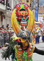 PASTO -COLOMBIA, 06-01-2016. El 6 de enero se realiza el día de blancos, se realiza el evento más importante: el Desfile Magno como parte del Carnaval de Negros y Blancos 2016 que se lleva a cabo entre el 2 y el 7 de enero de 2016 en la ciudad de Pasto, Colombia. / On January 6, whites' day, is performed the most important event: The Great Parade as part of the Blacks and Whites' Carnival 2016 which is held between 2 and 7 of January 2016 at Pasto, Colombia. Photo: VizzorImage / Leonardo Castro / Cont