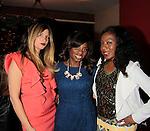 Chanel Omari - Delaina Dixon - Maureen Martin - INAANTA Hair International Launch Party hosted by Diva Gals Daily on November 15, 2014 at El Cid, New York City, New York. It is a new high-end Remy Extension line. This party is to get a good look at luxury hair collection.  (Photo by Sue Coflin/Max Photos)