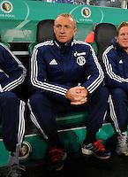 FUSSBALL   DFB POKAL   SAISON 2011/2012  ACHTELFINALE  Borussia Moenchengladbach - FC Schalke 04         21.12.2011 Seppo Eichkorn (Schalke) vertritt Trainer Huub Stevens