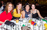 Enjoying the evening at the Skellig Stars Gala Ball in the Ring of Kerry Hotel on Saturday night were l-r; Sheila O'Neill, Patricia Clifford, Elaine Curran-O'Sullivan & Breda Clifford.