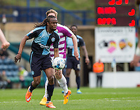 Marcus Bean of Wycombe Wanderers in action during the Sky Bet League 2 match between Wycombe Wanderers and Barnet at Adams Park, High Wycombe, England on 16 April 2016. Photo by Andy Rowland.